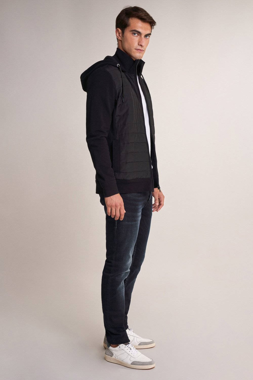 Puffer jacket with zip - Salsa