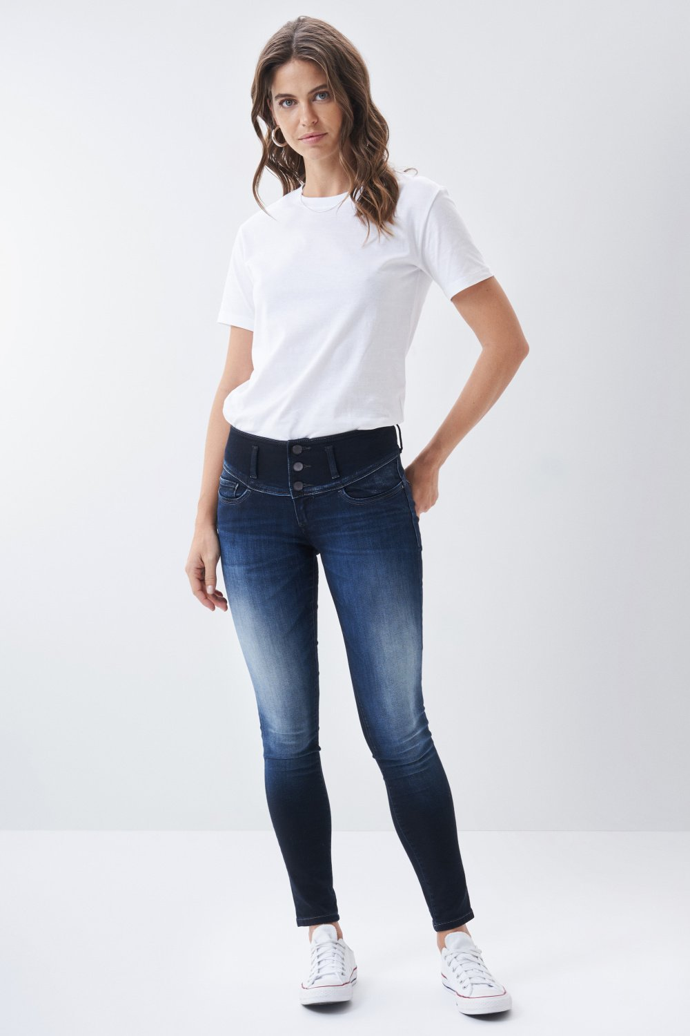 Mystery Push Up skinny premium wash jeans - Salsa