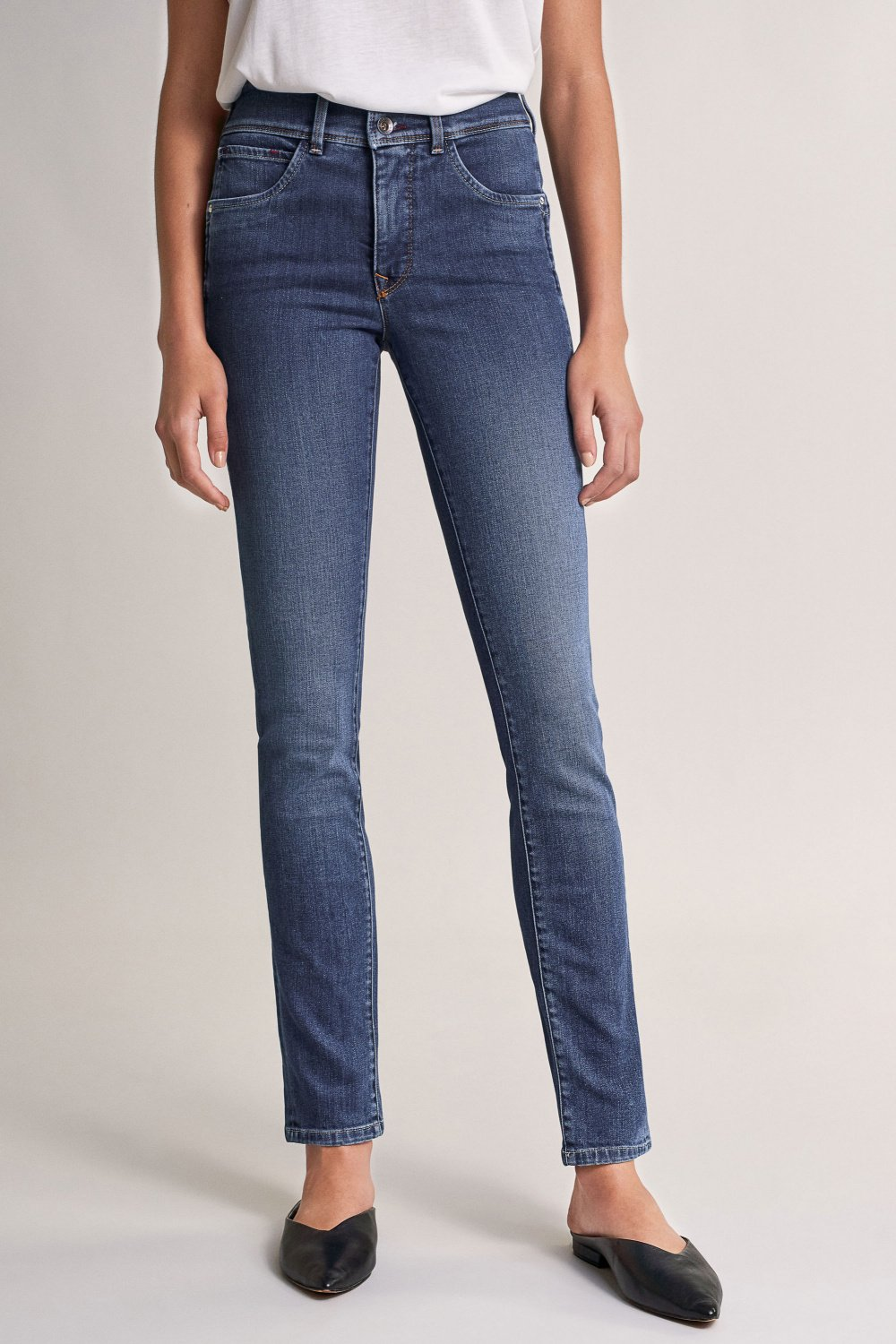 Push In Secret slim jeans with details - Salsa