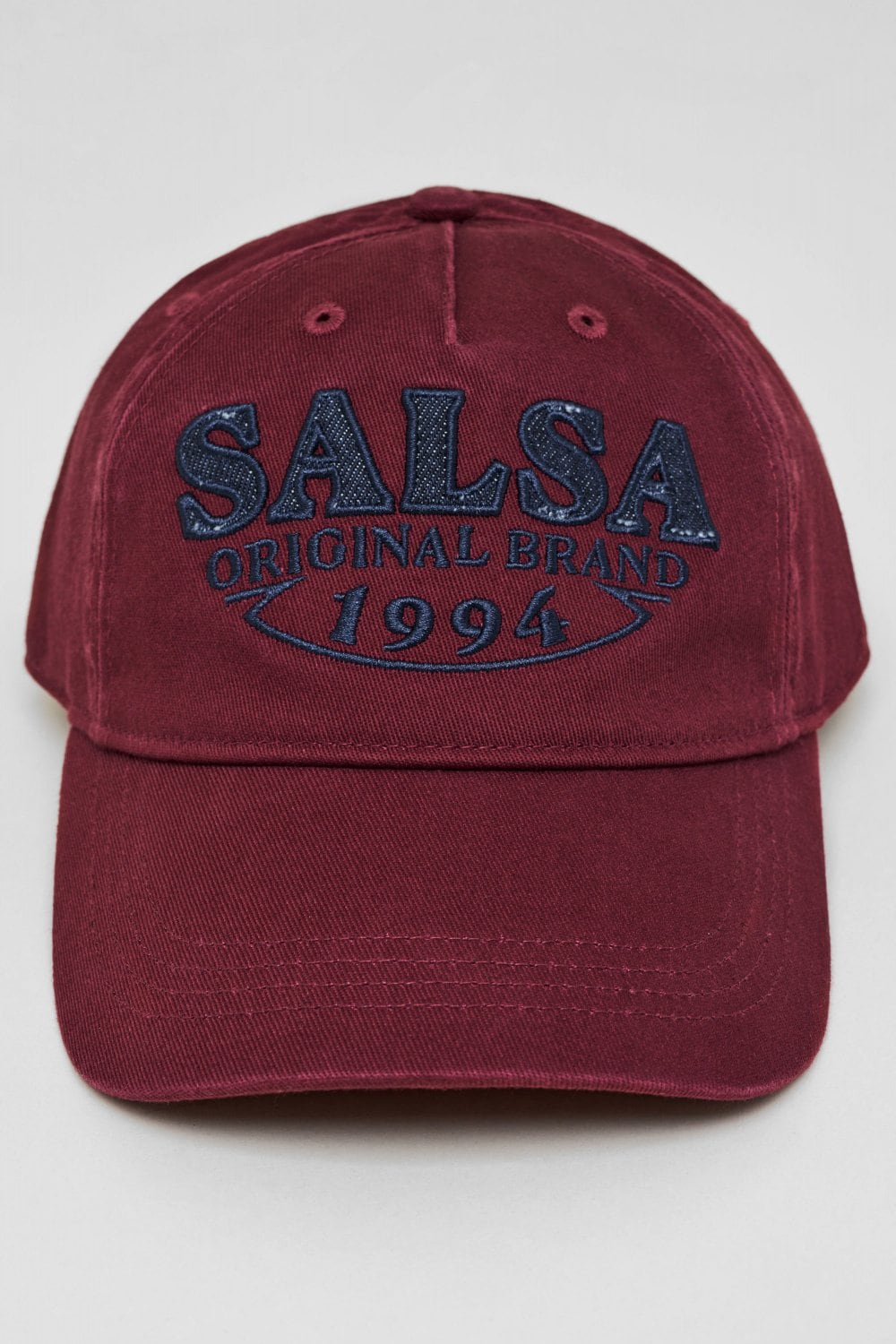 Branded cap with denim detail - Salsa
