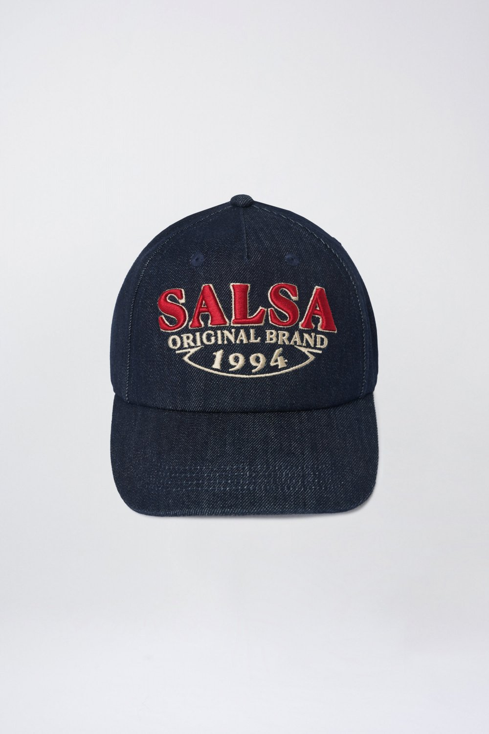 Denim branded cap - Salsa