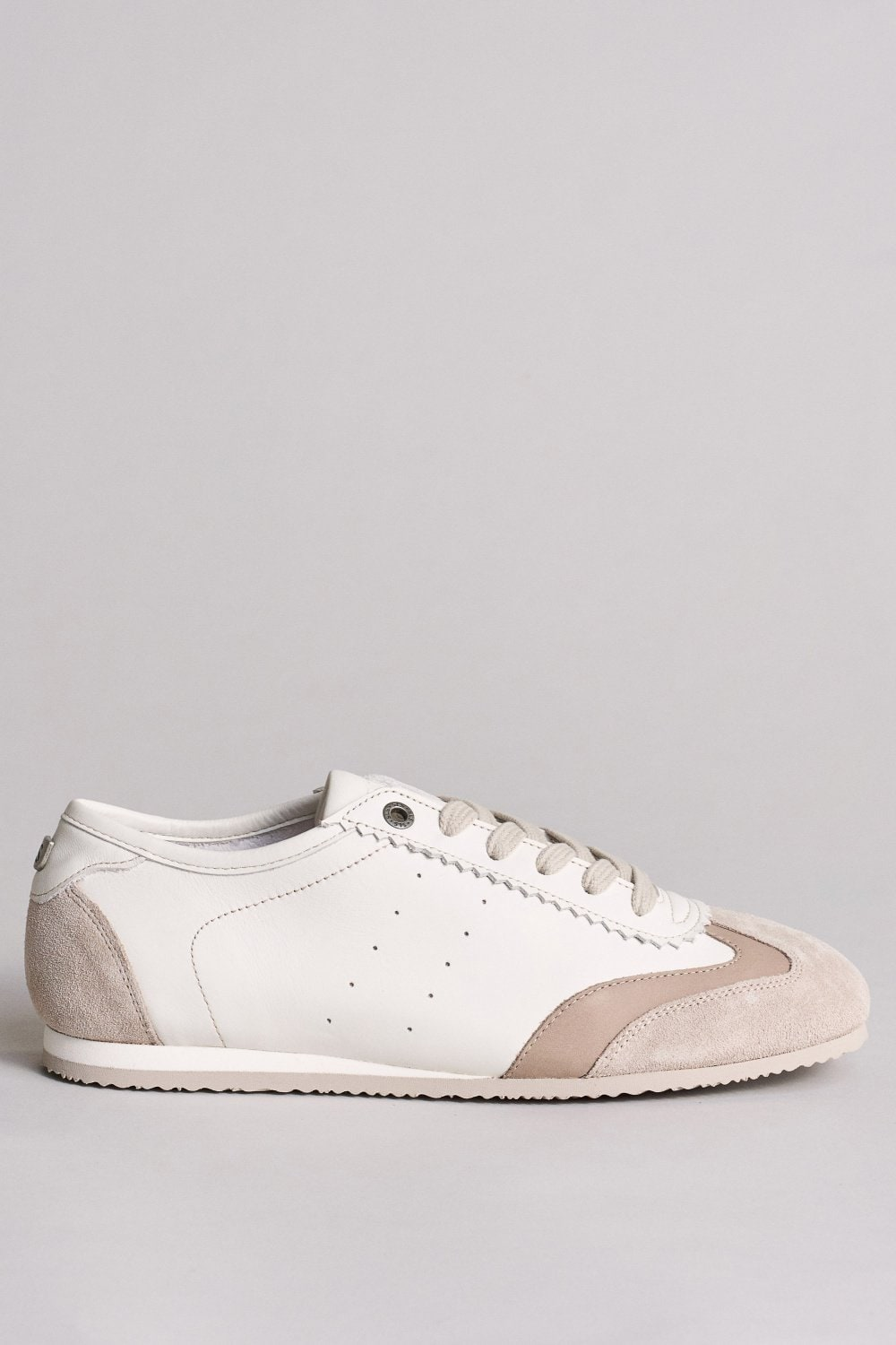 Flat leather trainers - Salsa