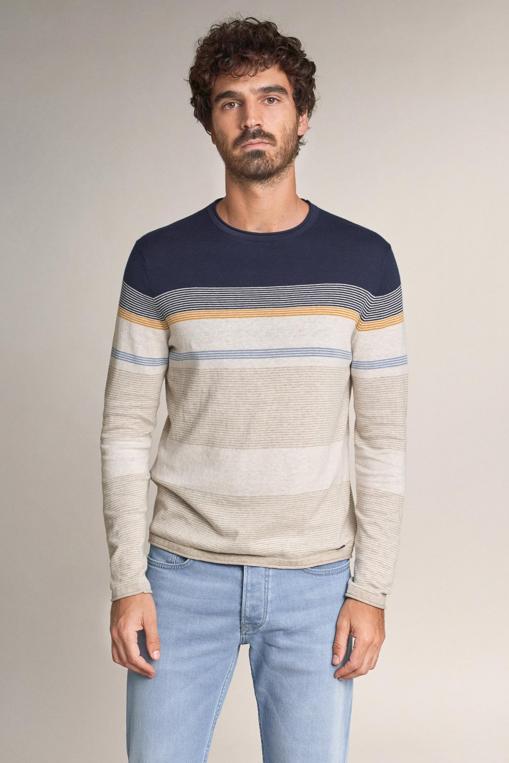 Striped sweater - Salsa