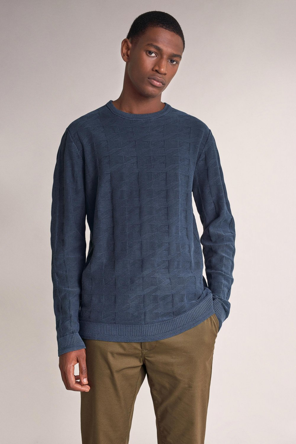 Jacquard sweater - Salsa