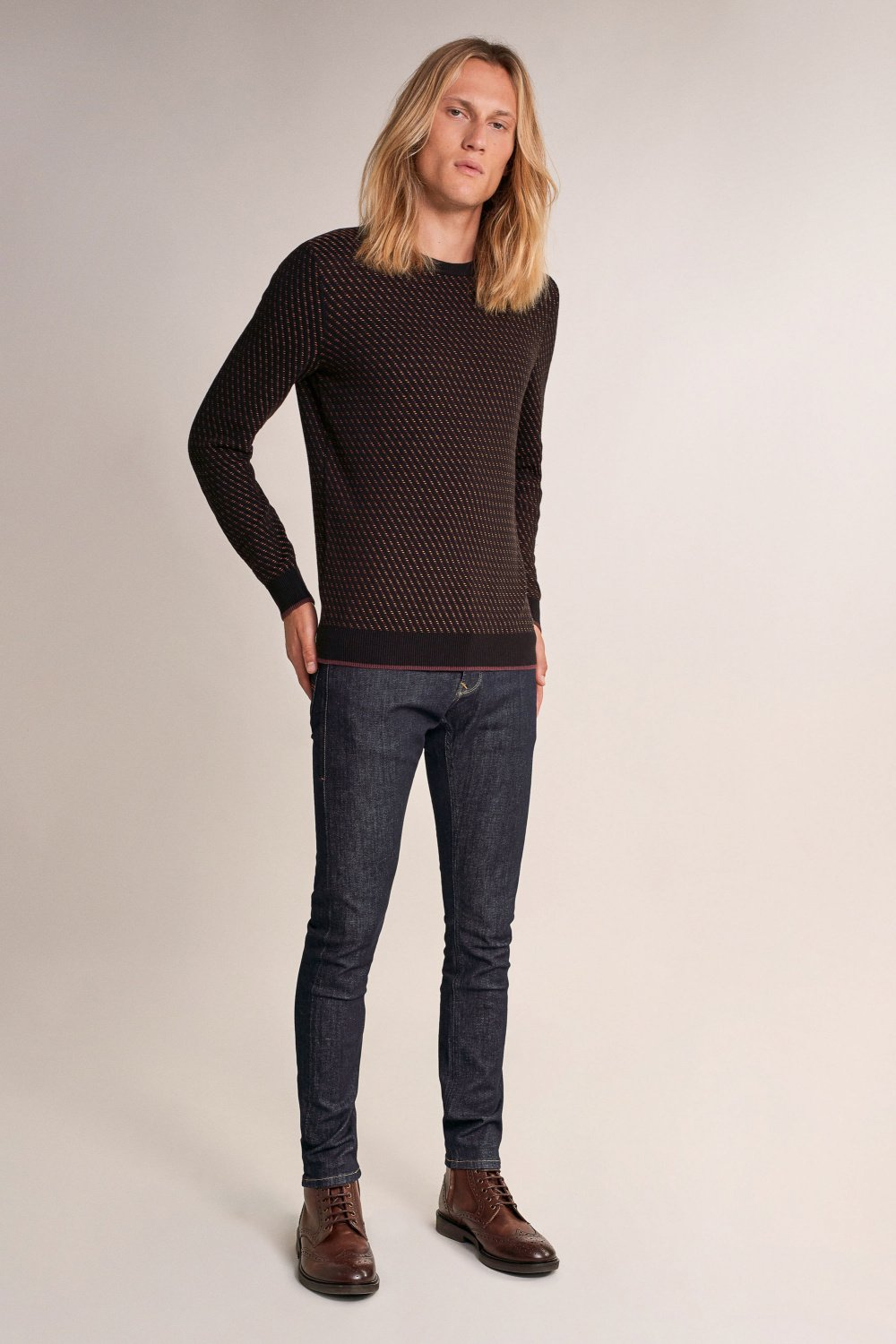 Thick sweater with detail - Salsa
