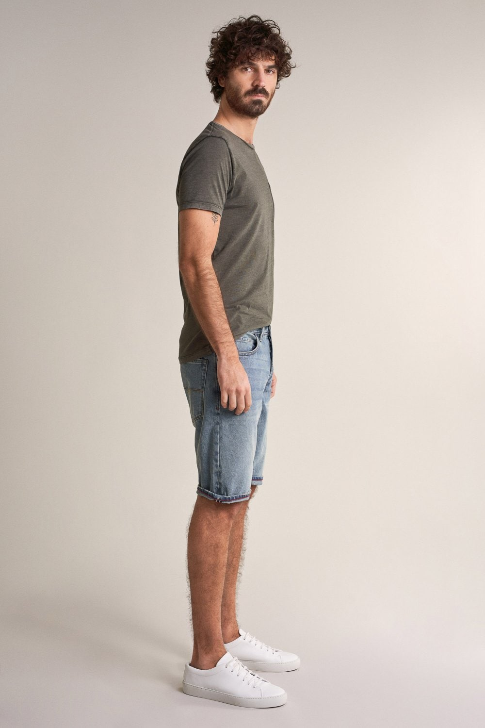 Brandon loose denim shorts - Salsa