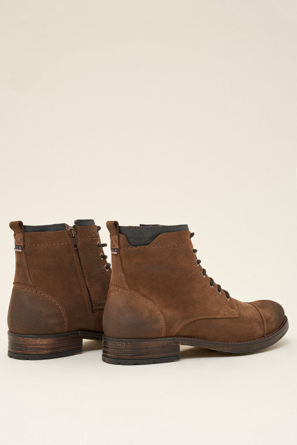Leather boots with denim detail - Salsa