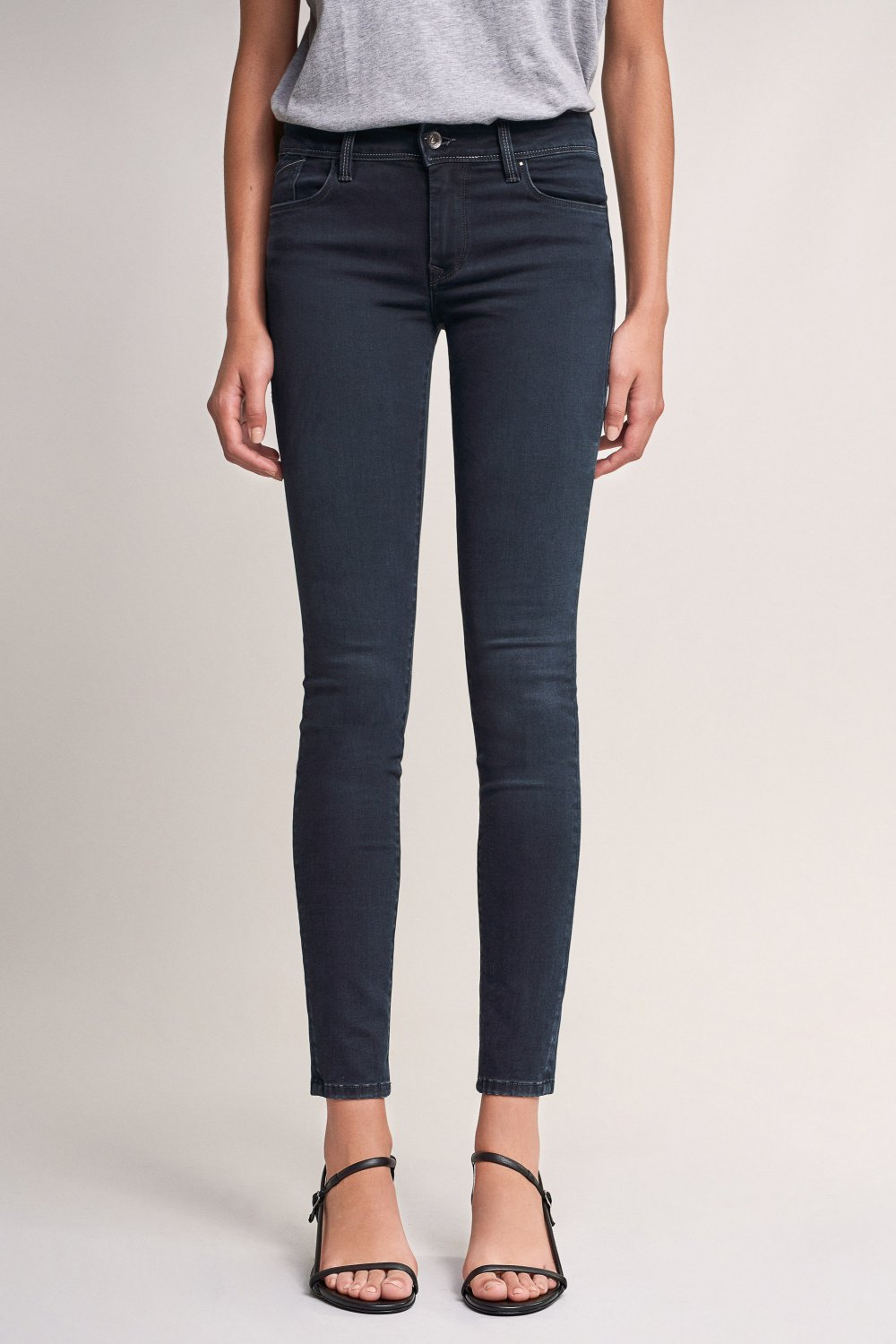 Colette skinny jeans with detail - Salsa