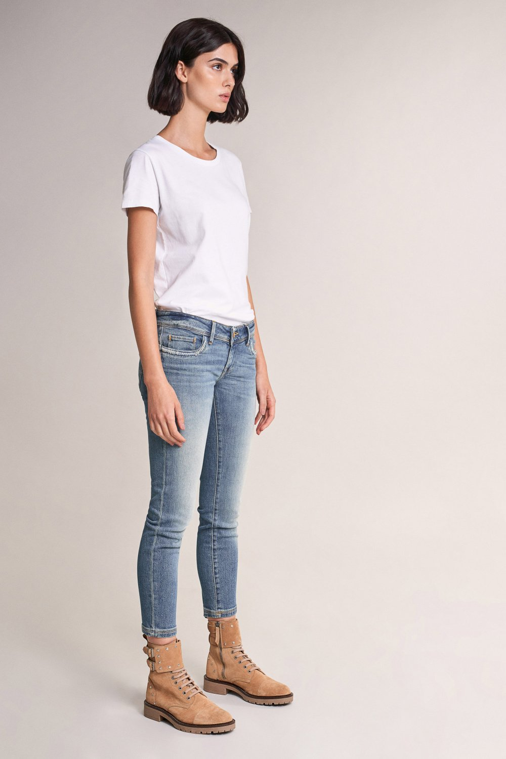 Shape Up Push Up capri jeans with pocket detail - Salsa
