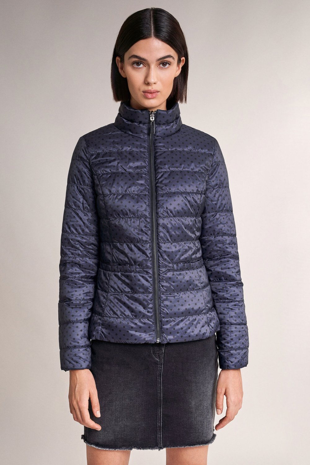 Reversible short puffer jacket - Salsa