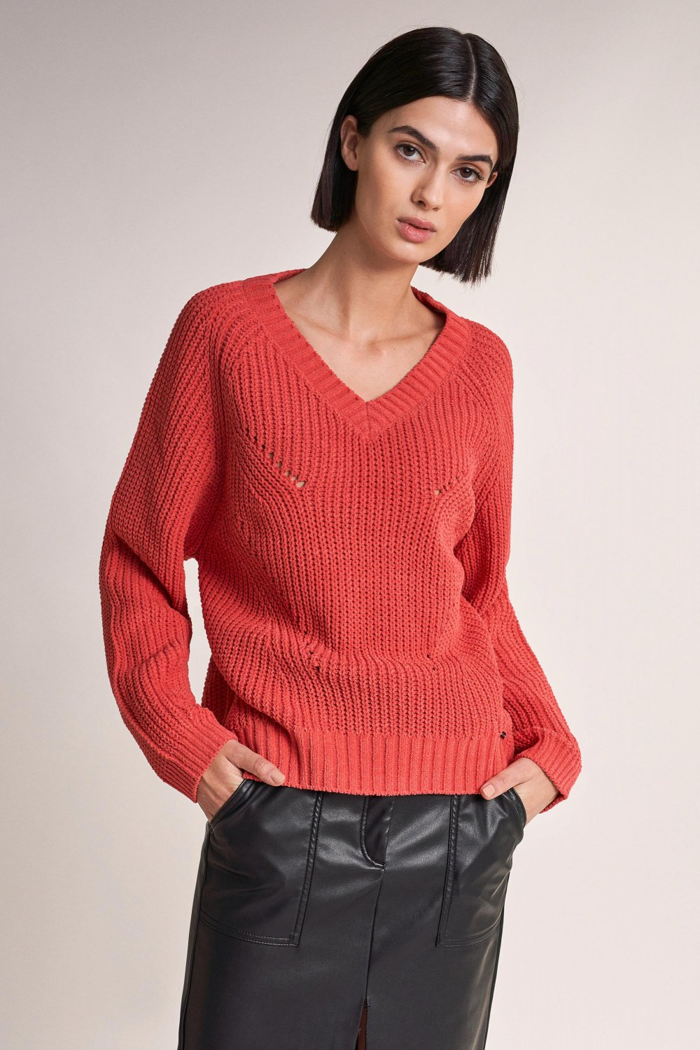 Chenille sweater - Salsa