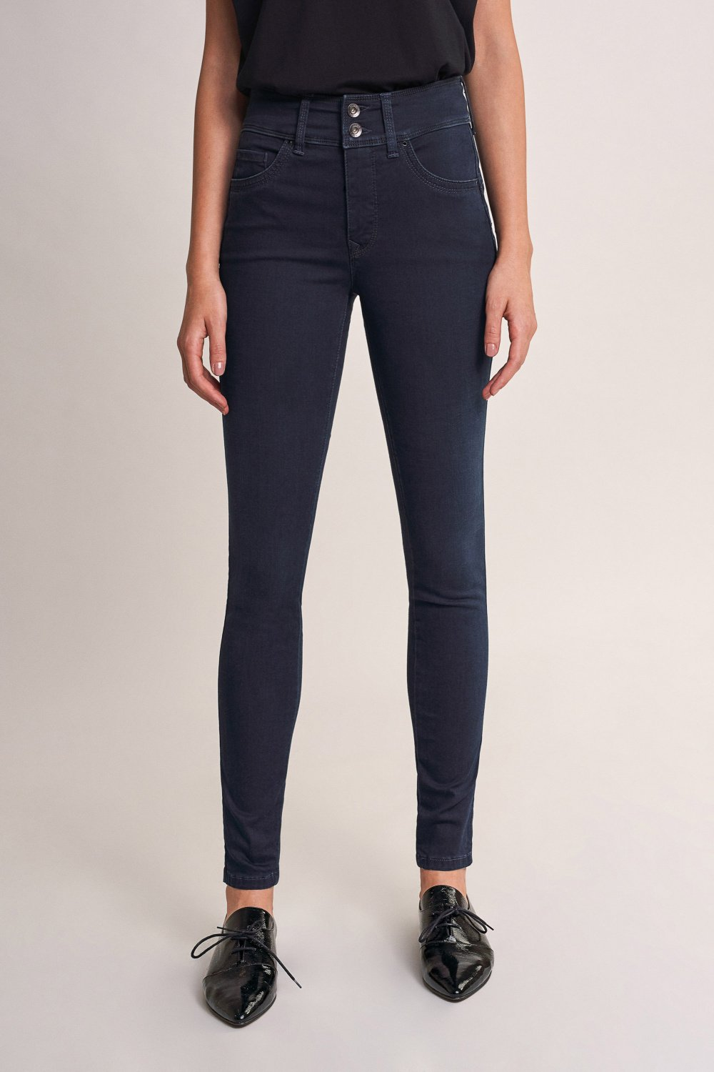 Jeans Push In Secret skinny soft touch com Swarovski - Salsa