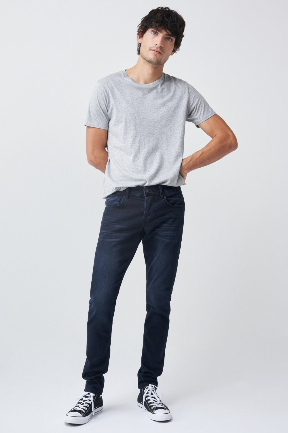 Clash skinny jogger jeans with graphene - Salsa