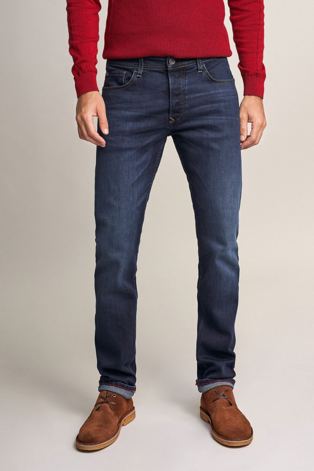 Lima tapered dark jeans - Salsa