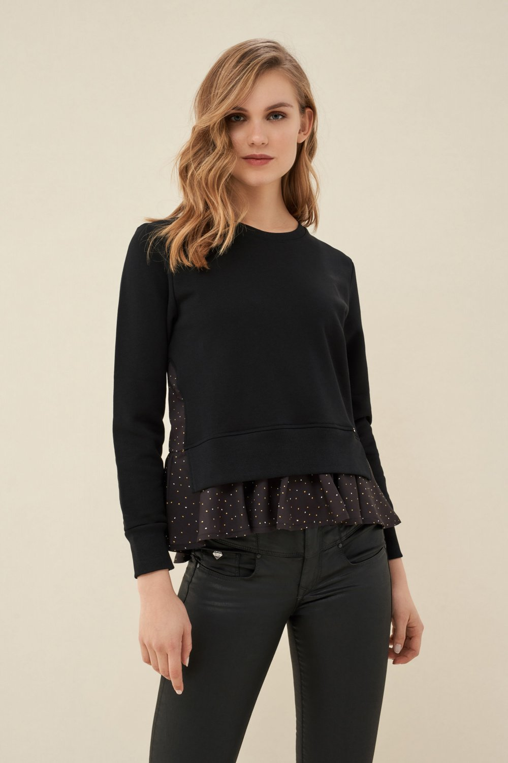 Sweater with frills - Salsa