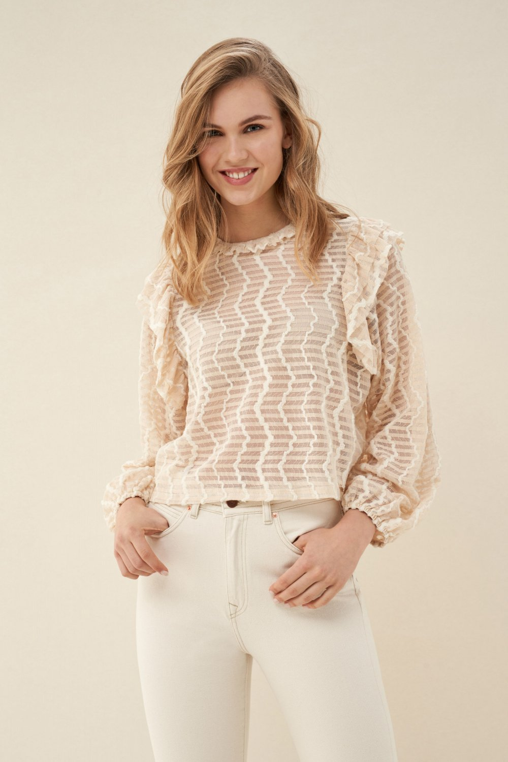 Lace blouse - Salsa