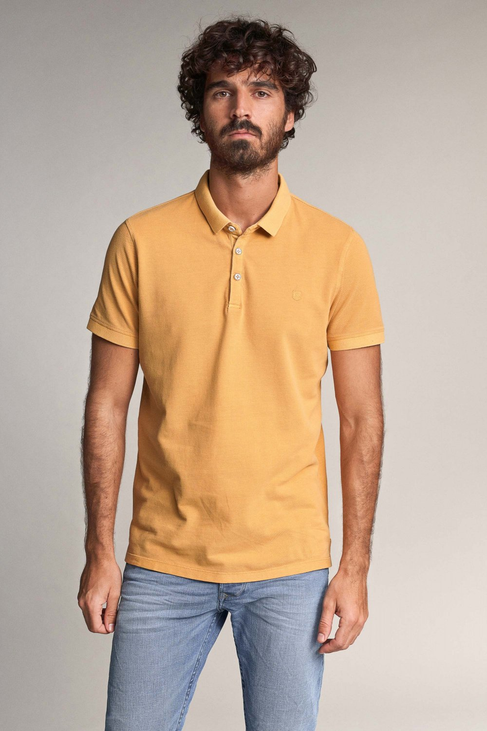 Polo regular fit teinté - Salsa