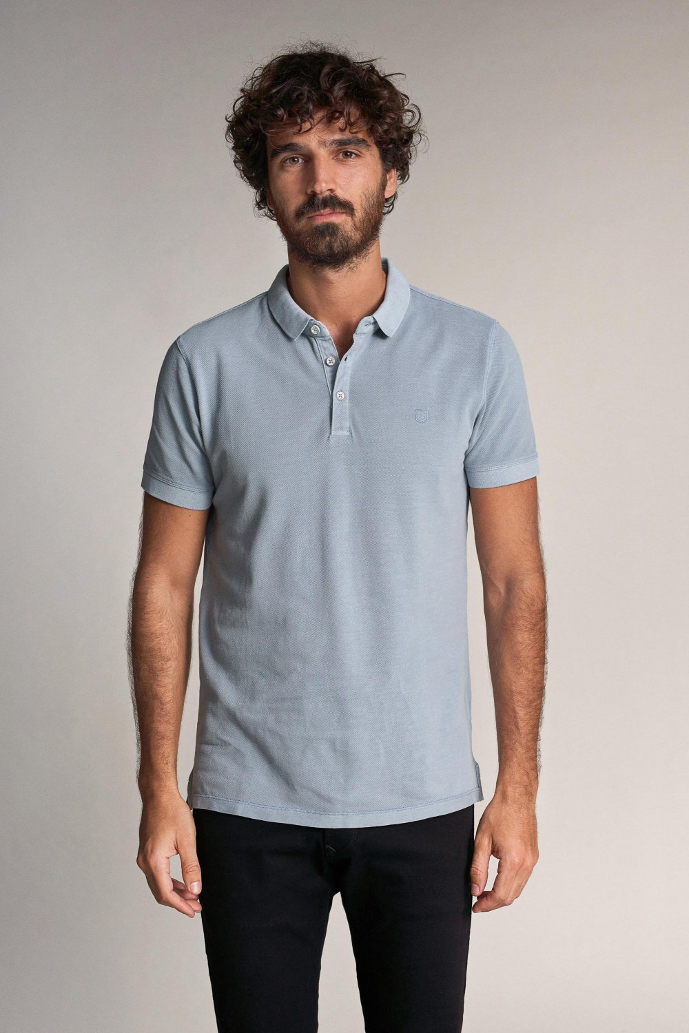 Regular fit polo shirt with dye - Salsa
