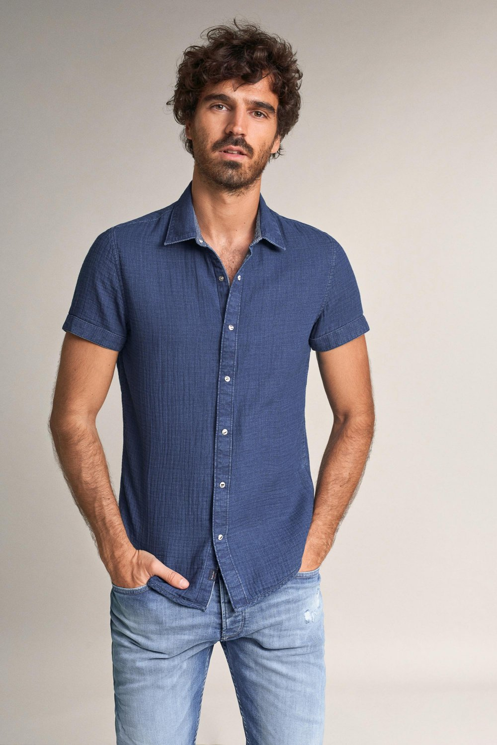 Camisa fit slim reversible - Salsa