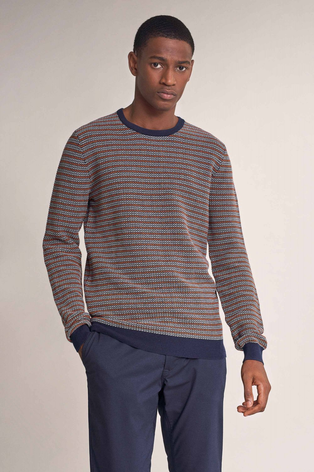 Striped effect sweater - Salsa
