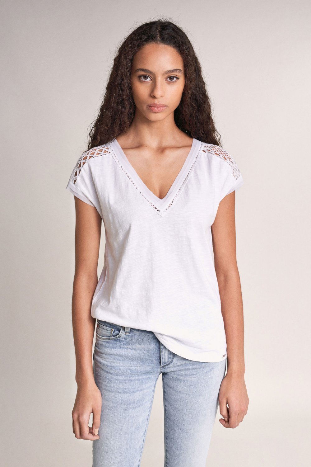 Top with lace - Salsa