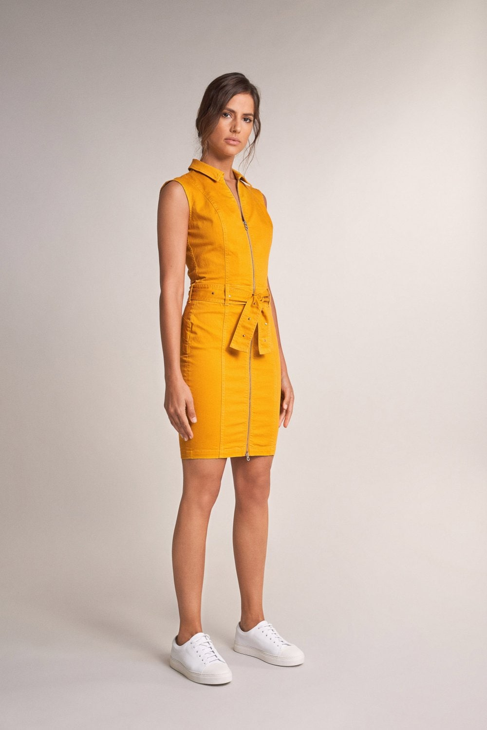 Push in dress with belt - Salsa