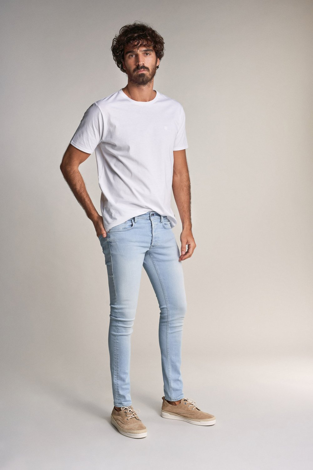 Clash skinny jeans ready to go - Salsa