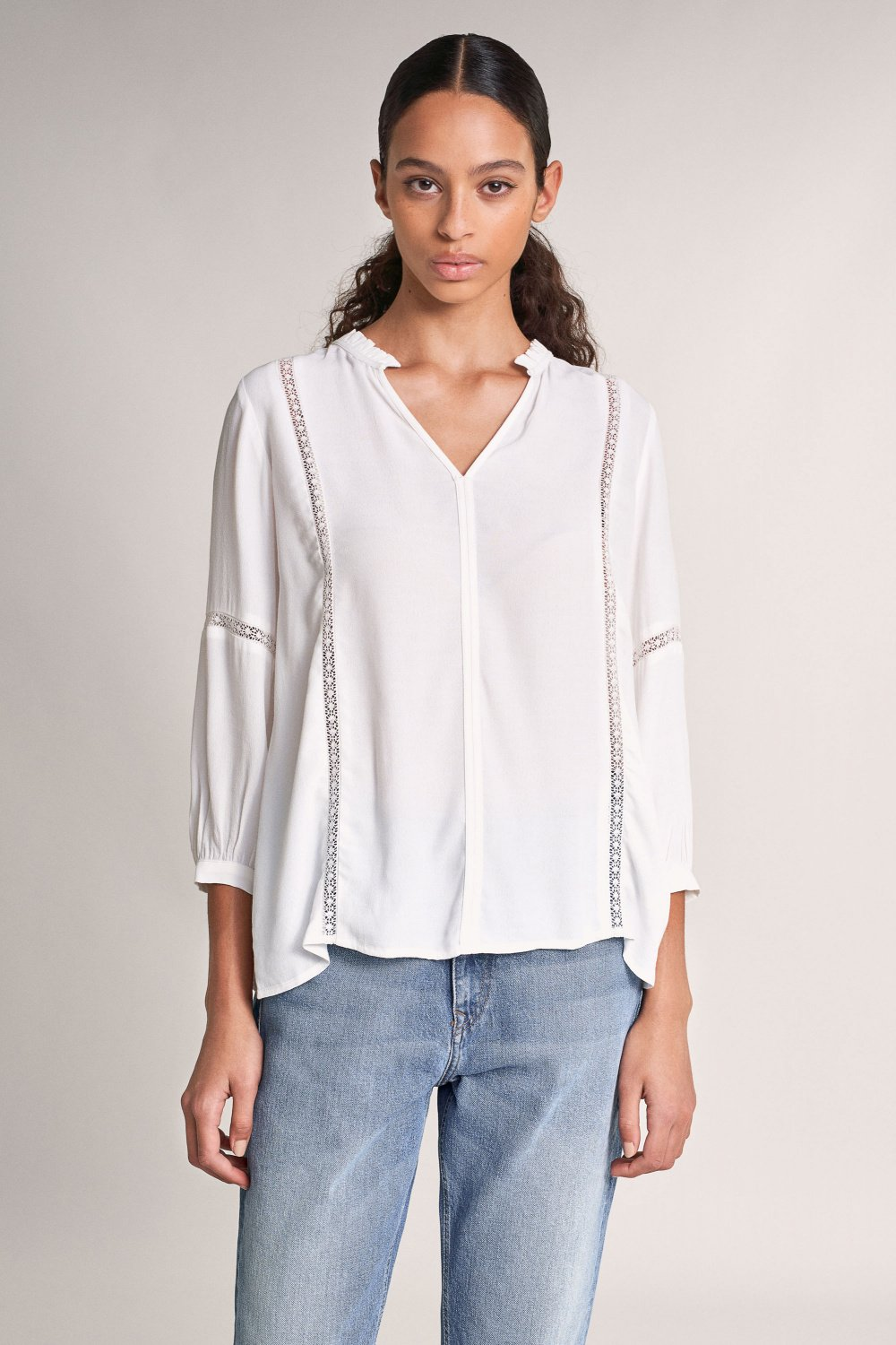 Blouse with lace - Salsa