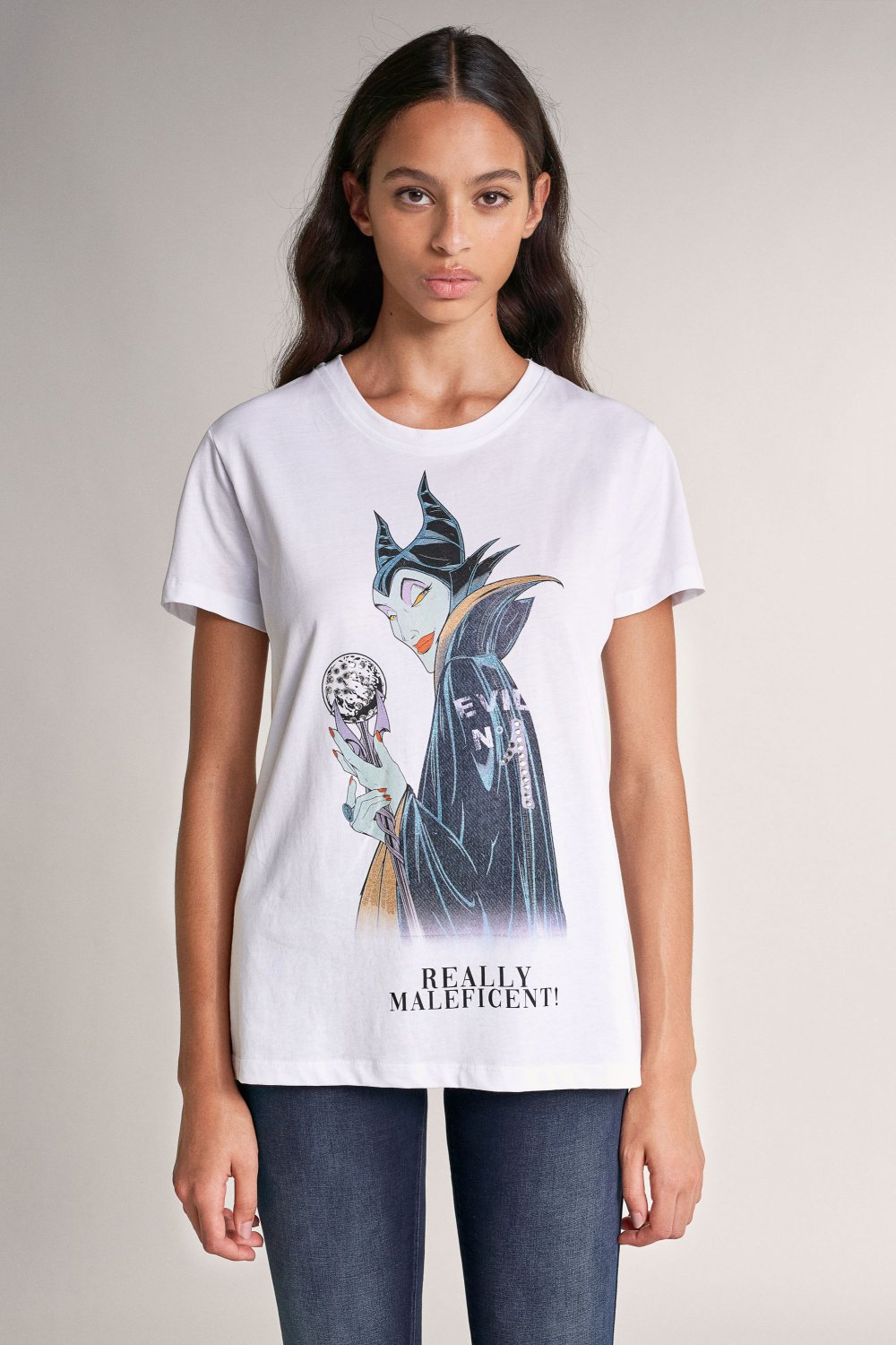 Camiseta Villans Maleficent - Salsa
