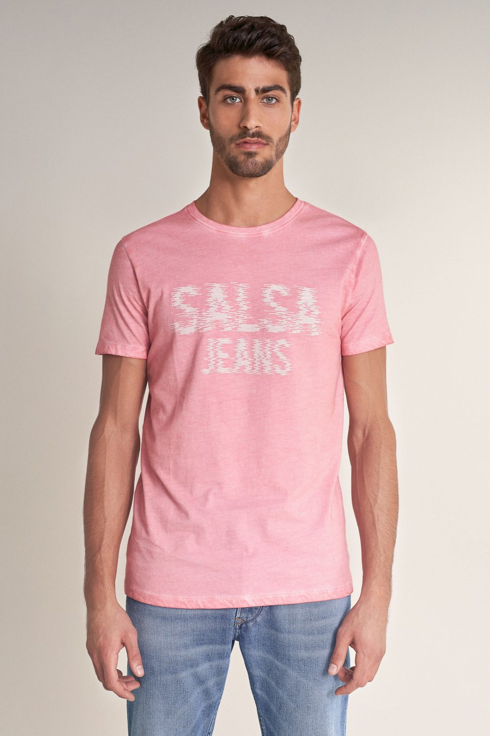 T-Shirt, mit Label - Salsa