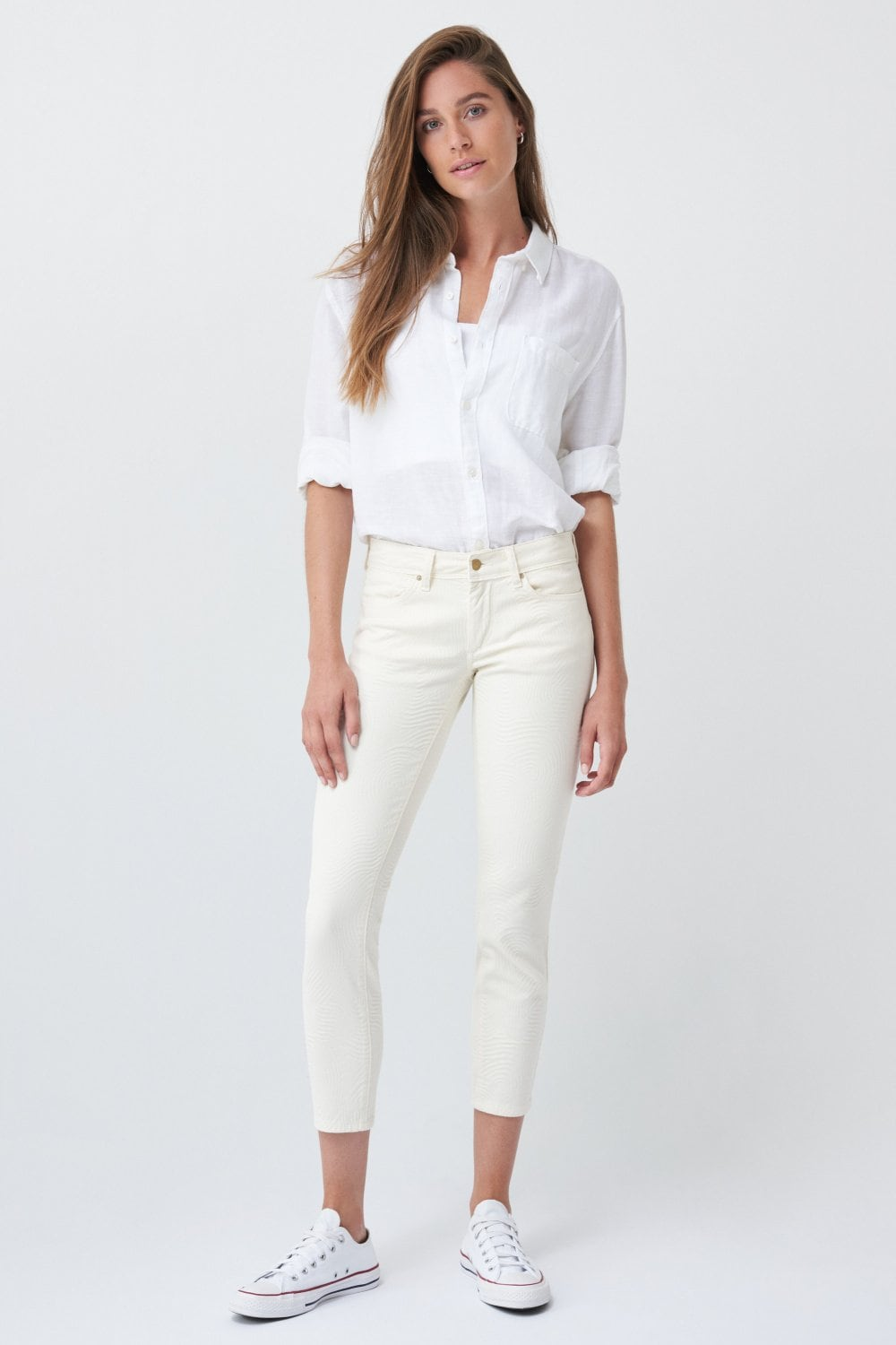 Push up Wonder capri jacquard jeans - Salsa