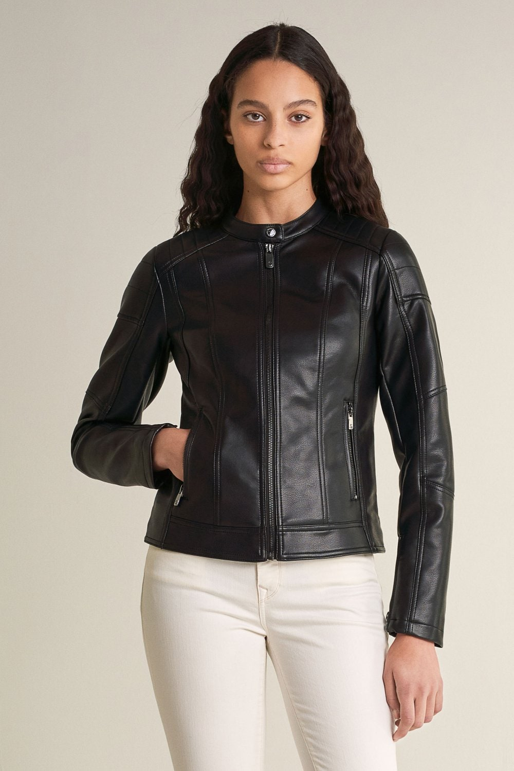 Nappa leather jacket - Salsa
