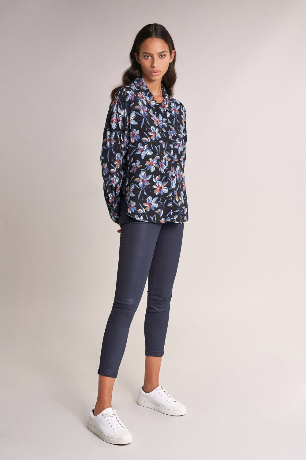 Tunic with floral print - Salsa