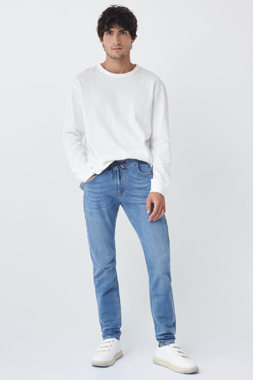 GAP 1969 Homme Bleu Pantalon De Survêtement avec cordons