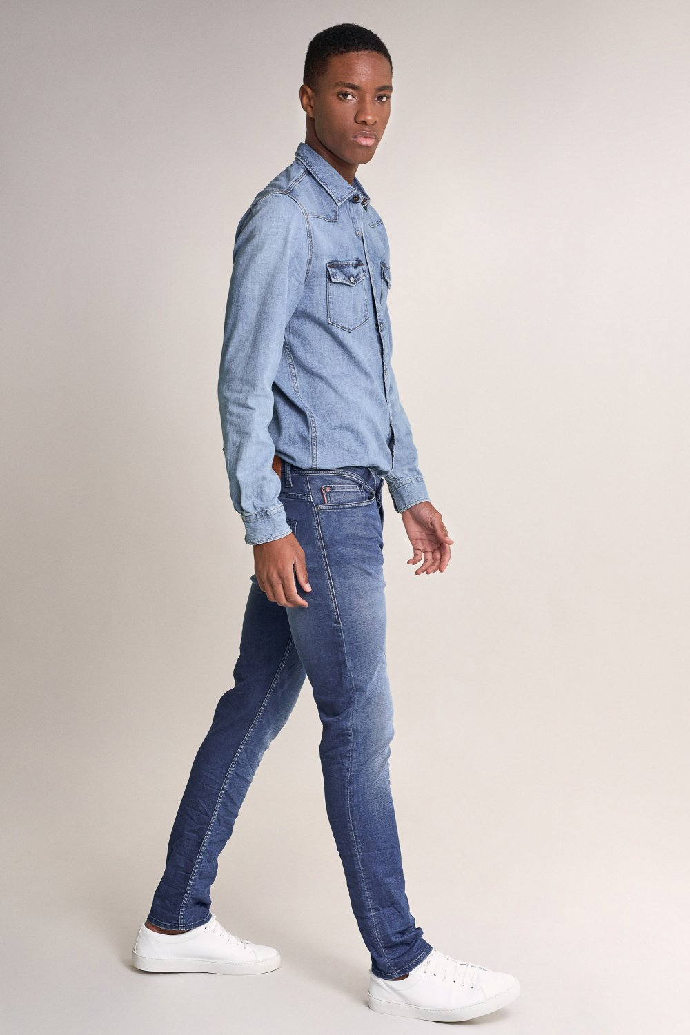 Slender slim carrot ready to go jeans - Salsa