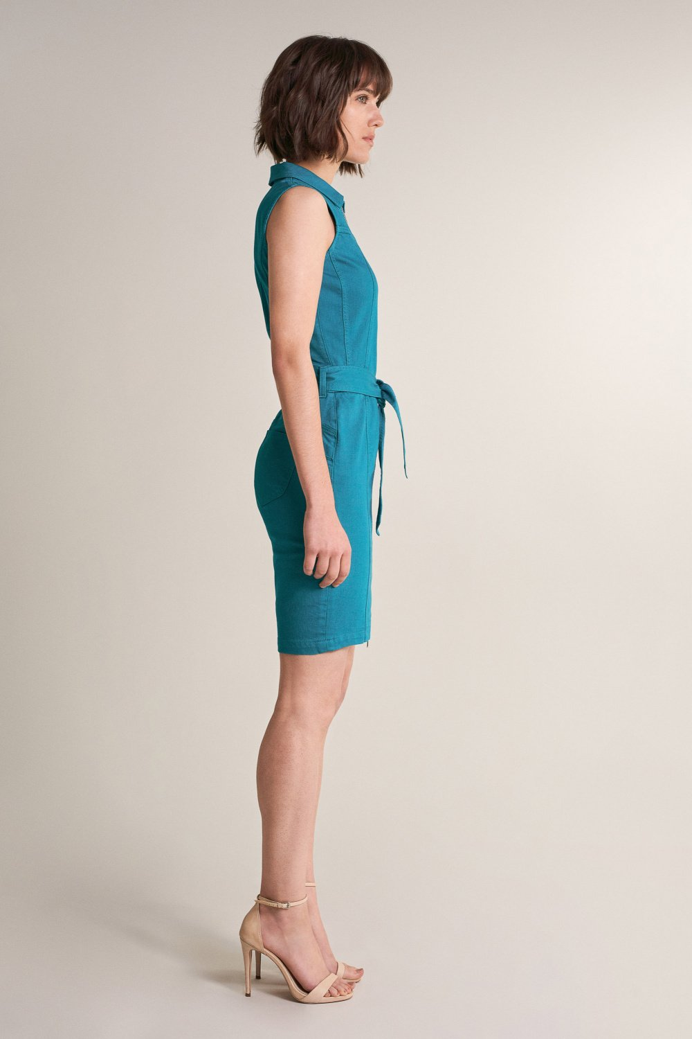 Push in zipup dress - Salsa