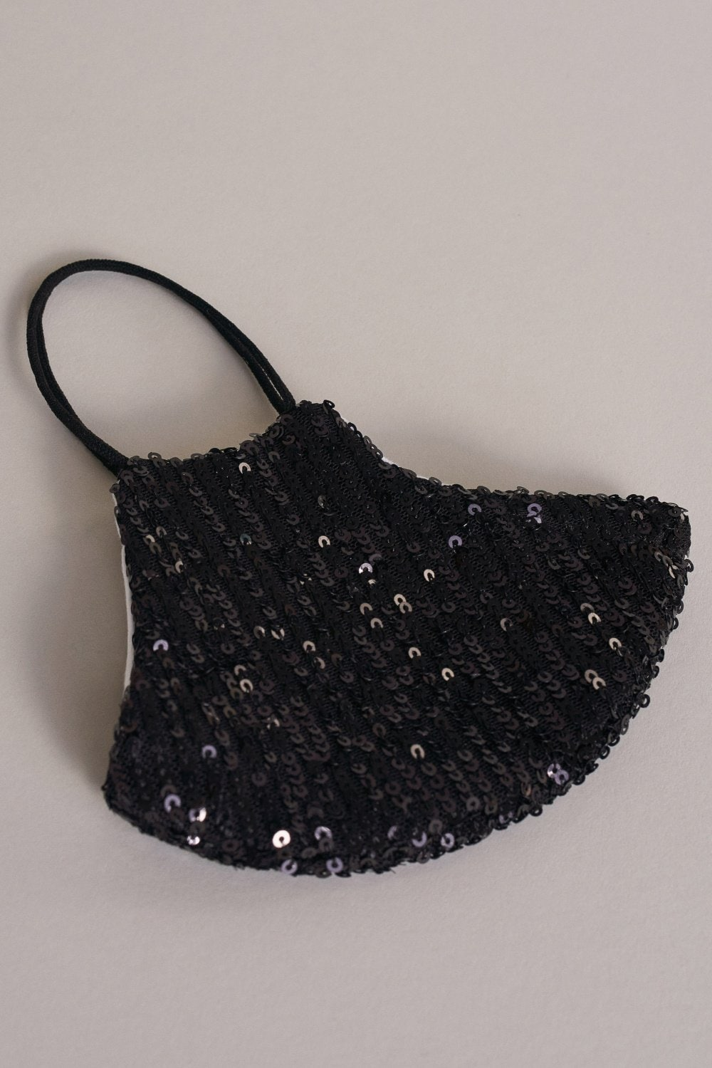 Reusable face mask with sequins - Salsa