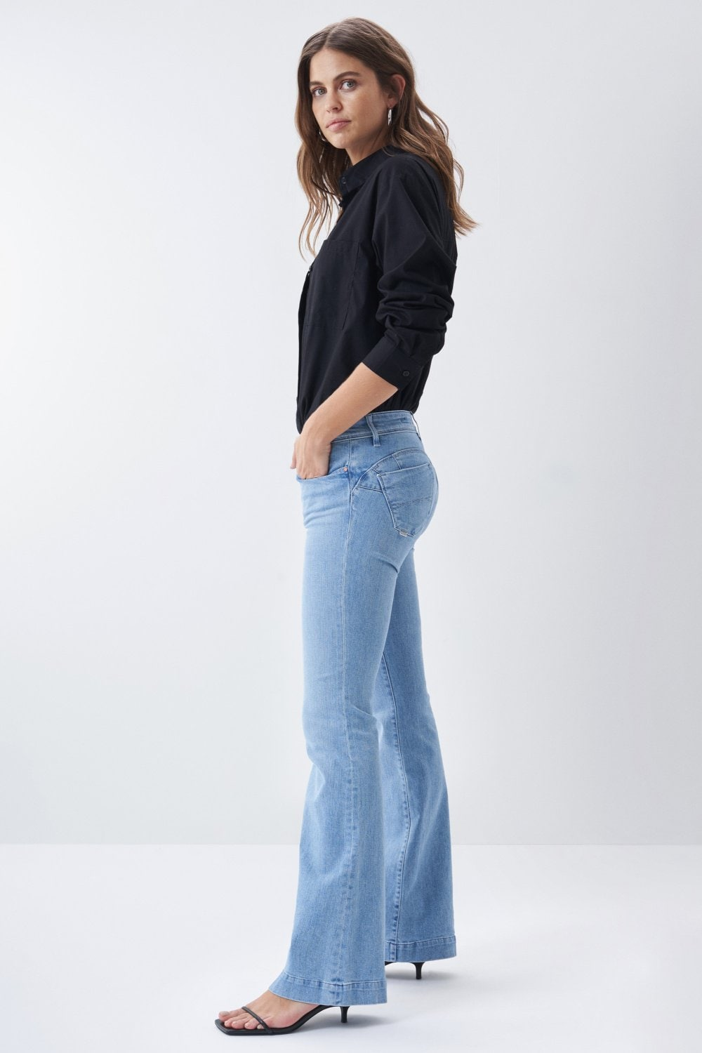 Push Up Wonder flare jeans - Salsa