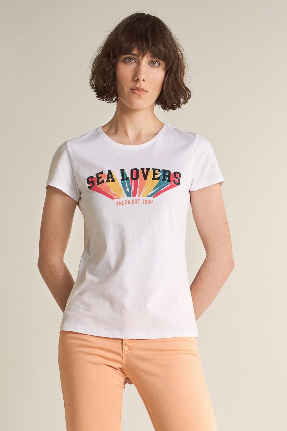 Camiseta gráfica ´sea Lovers´ - Salsa