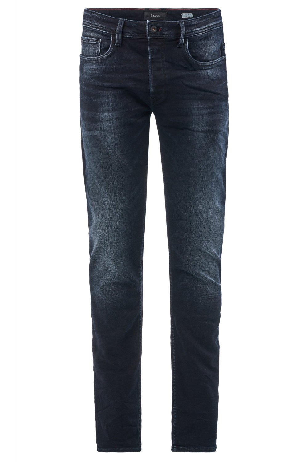 Lima tapered premium wash jeans with wear - Salsa