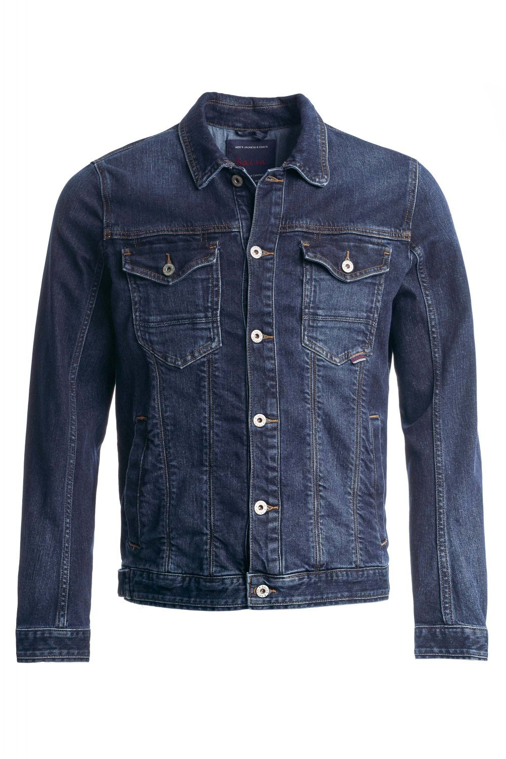 Blouson, slim Fit, in Denim, Spartan - Salsa