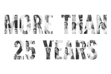 #Morethan25years