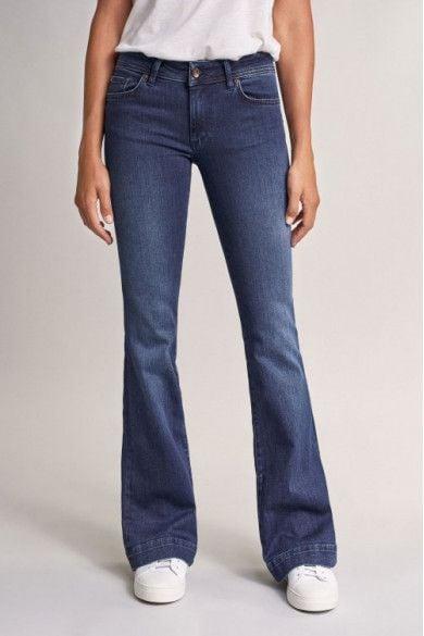 Pantalones Vaqueros Campana Mujer Salsa Jeans